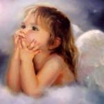 Precious Angels cherub